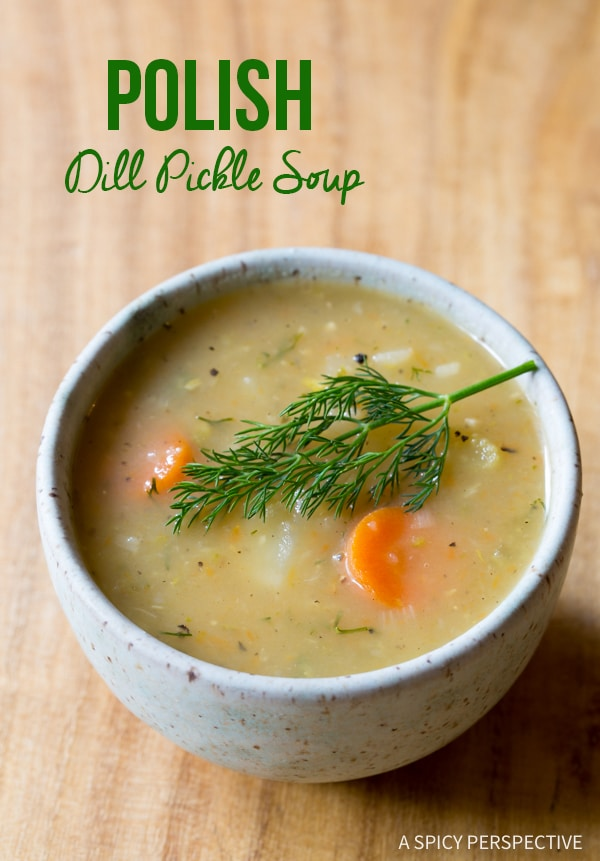 Creamy Polish Dill Pickle Soup (AKA Polish Potato Soup)