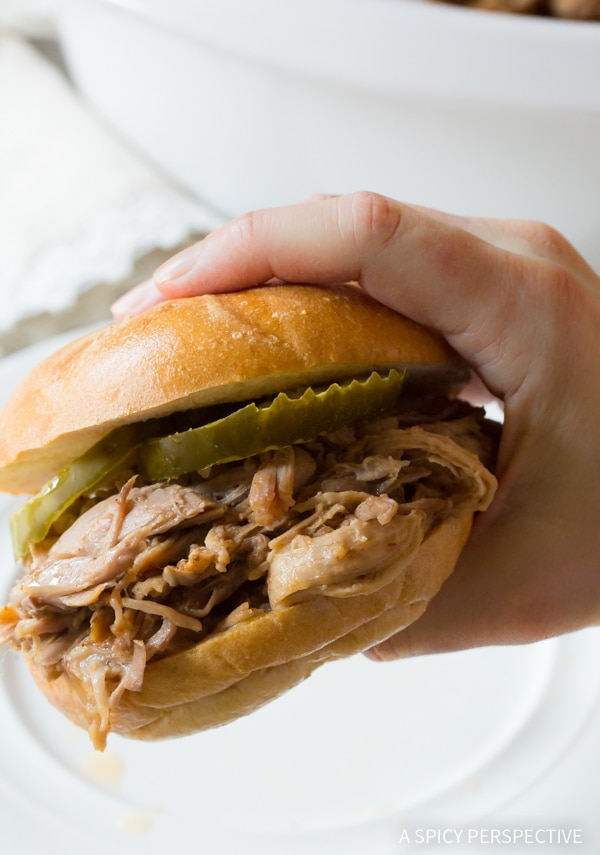 The Perfect 5-Ingredient Southern Slow Cooker Pulled Pork Recipe
