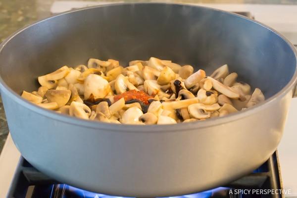 How to Make Asian Stir Fried Mushrooms Recipe