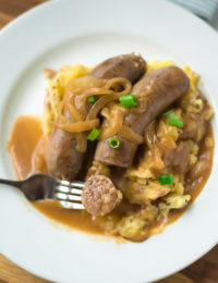 Irish Bangers and Mash Recipe