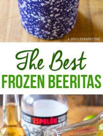 The Best Frozen Beeritas Recipe #cincodemayo