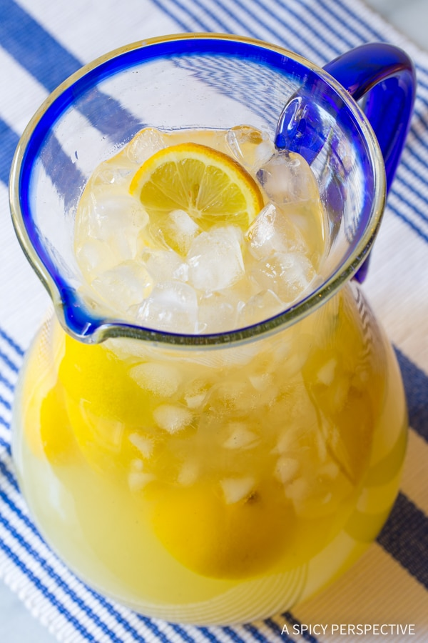 Best Stevia Lemonade How To Make Lemonade A Spicy Perspective