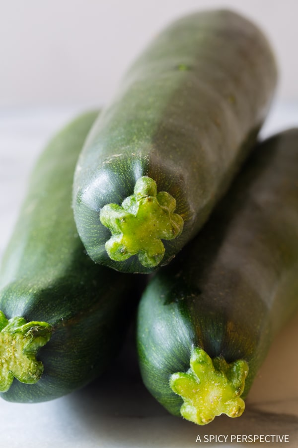 Roasted Zucchini Recipe #healthy #lowcarb