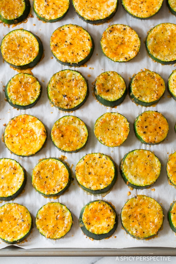 Crispy Creole Roasted Zucchini Recipe