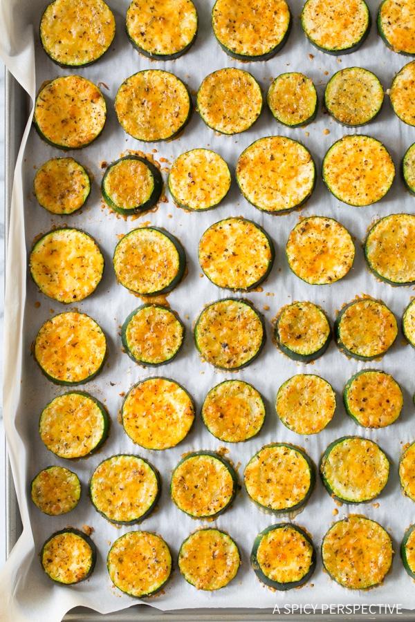 Fabulous Crispy Creole Roasted Zucchini Recipe
