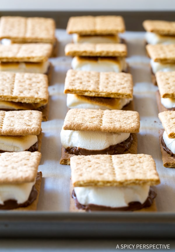 How to Make Easy Sheet Pan S'mores Recipe