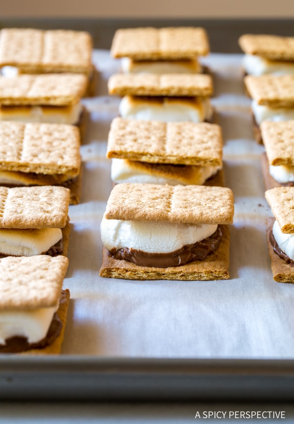 Best Easy Sheet Pan S'mores Recipe