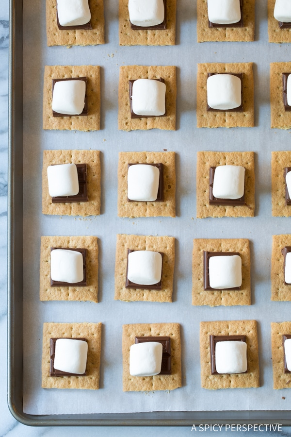 Must-Make Easy Sheet Pan S'mores Recipe