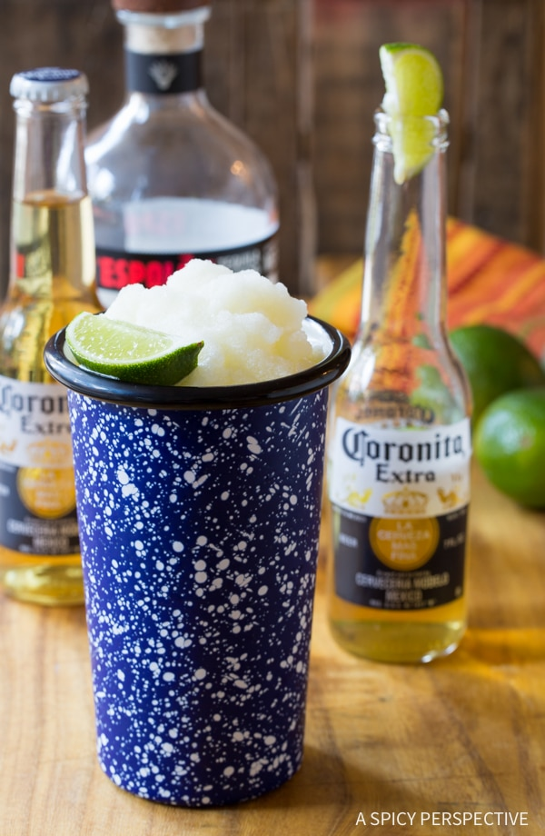 Frothy Frozen Beeritas Recipe #cincodemayo