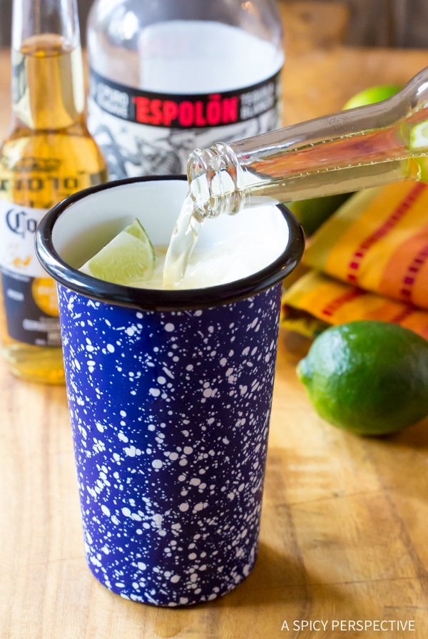 Simple Frozen Beeritas Recipe #cincodemayo
