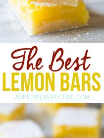 The Absolute Best Lemon Bars Recipe