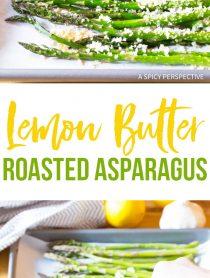 Zesty Lemon Butter Roasted Asparagus Recipe