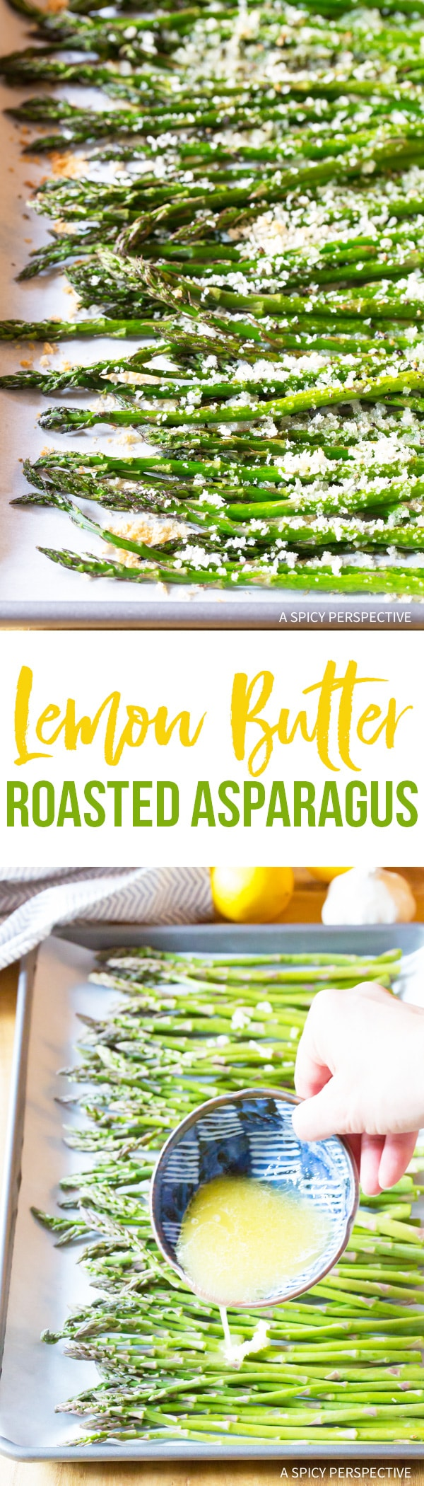 Zesty Lemon Butter Roasted Asparagus Recipe