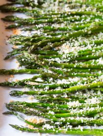 Lemon Butter Roasted Asparagus Recipe
