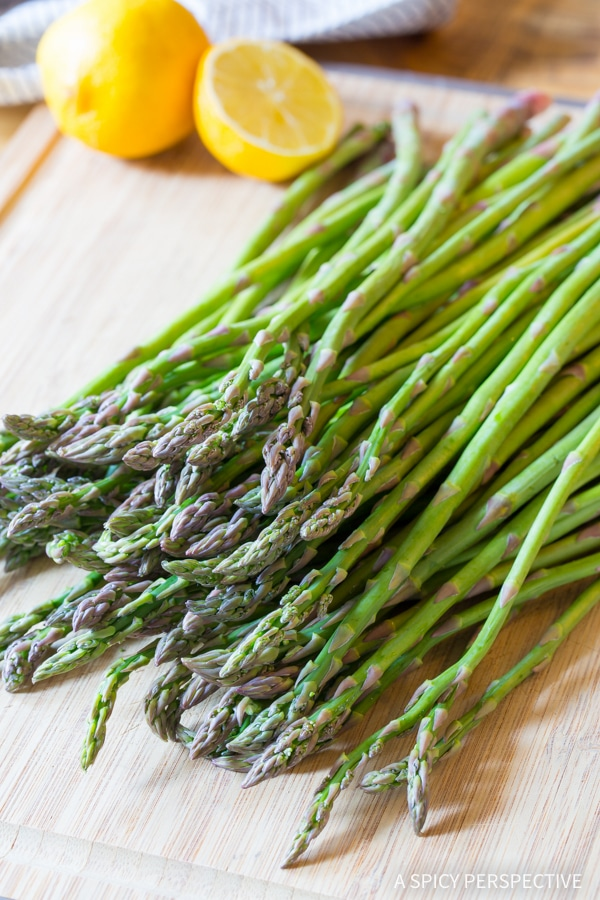 Easy Lemon Butter Roasted Asparagus Recipe