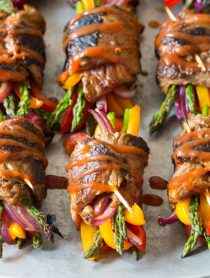 Low Carb Steak Fajita Roll-Ups #healthy