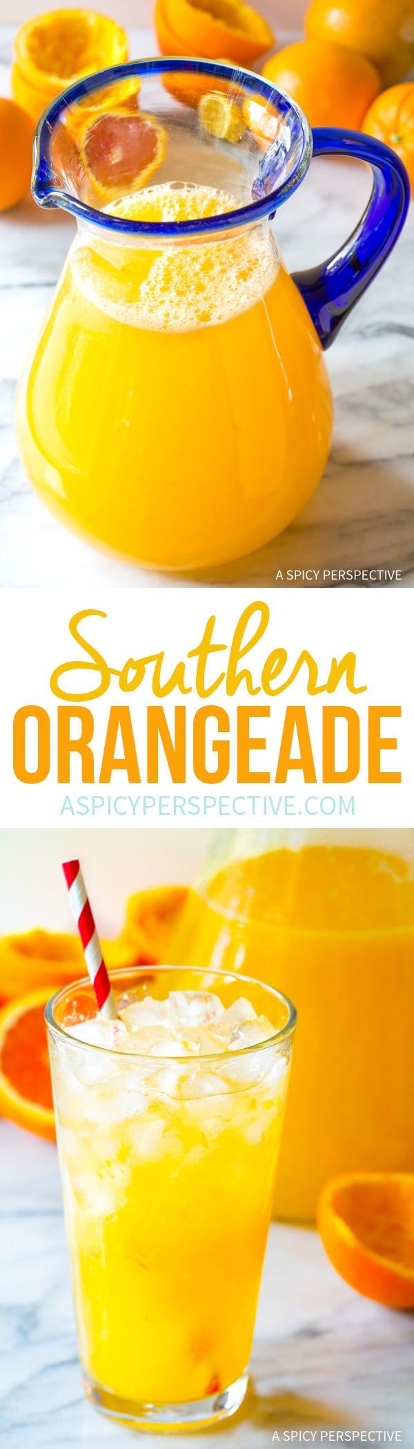 The Best Southern Orangeade Recipe