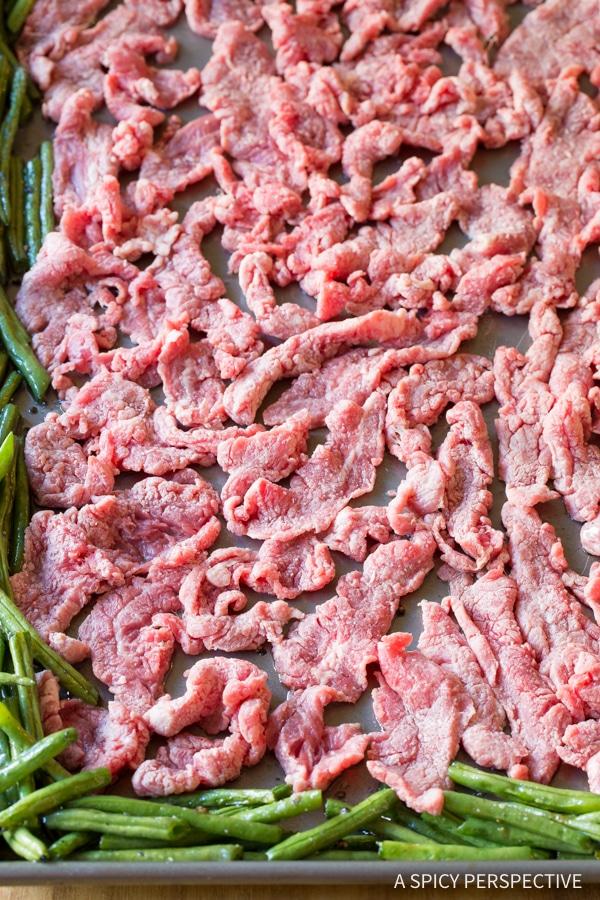 Must-Make Sheet Pan Mongolian Beef Recipe