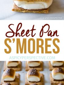 Perfect Easy Sheet Pan S'mores Recipe