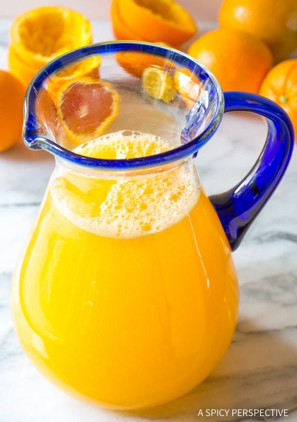 Refreshing Southern Orangeade Recipe