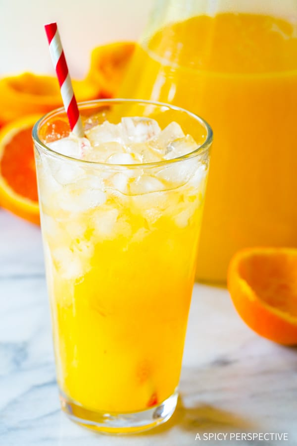 Best Southern Orangeade Recipe