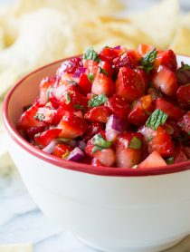 Strawberry Habanero Salsa Recipe