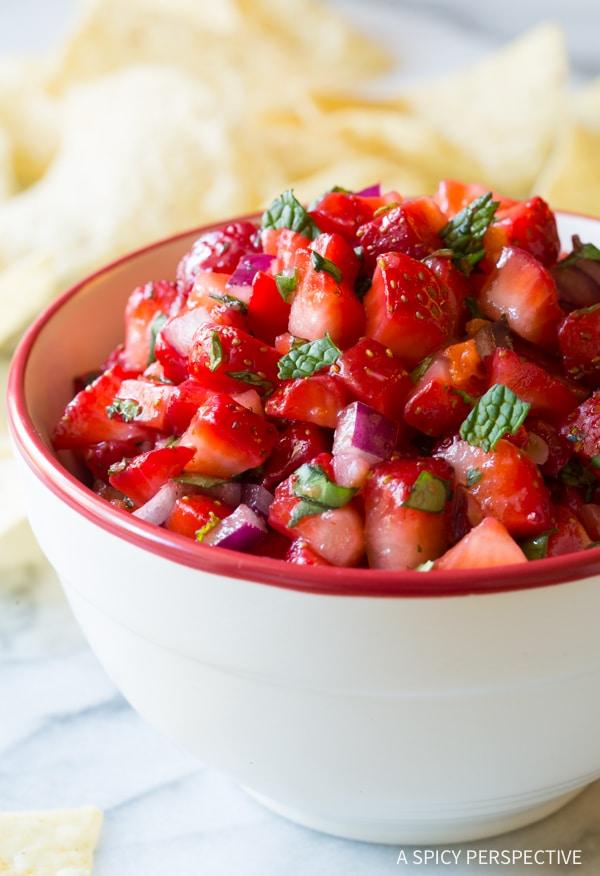 Strawberry Habanero Salsa Recipe