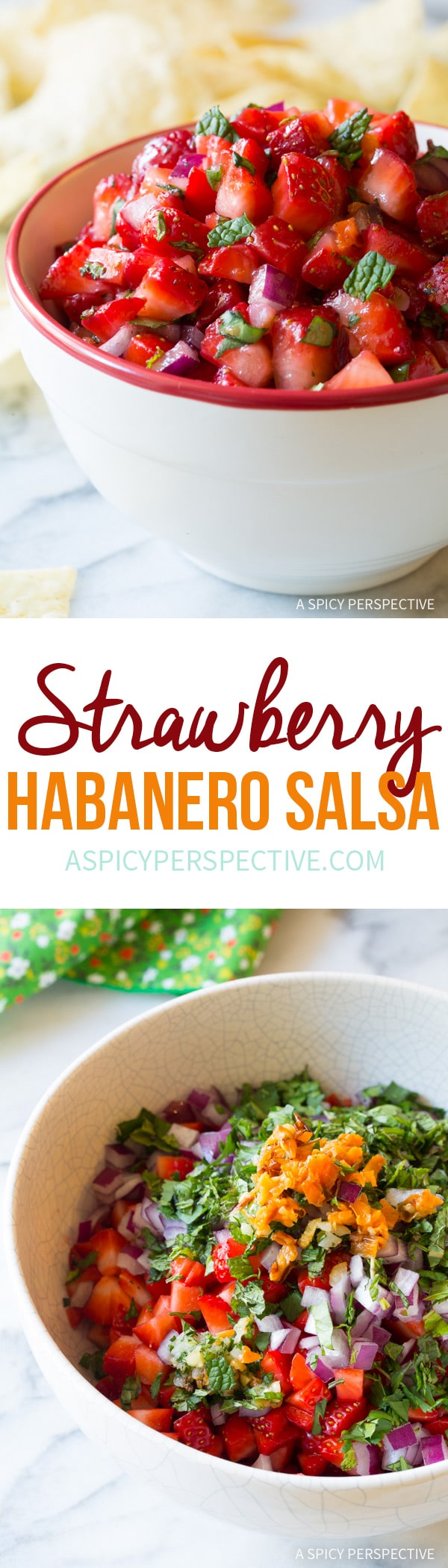 Sweet and Smoky Strawberry Habanero Salsa Recipe