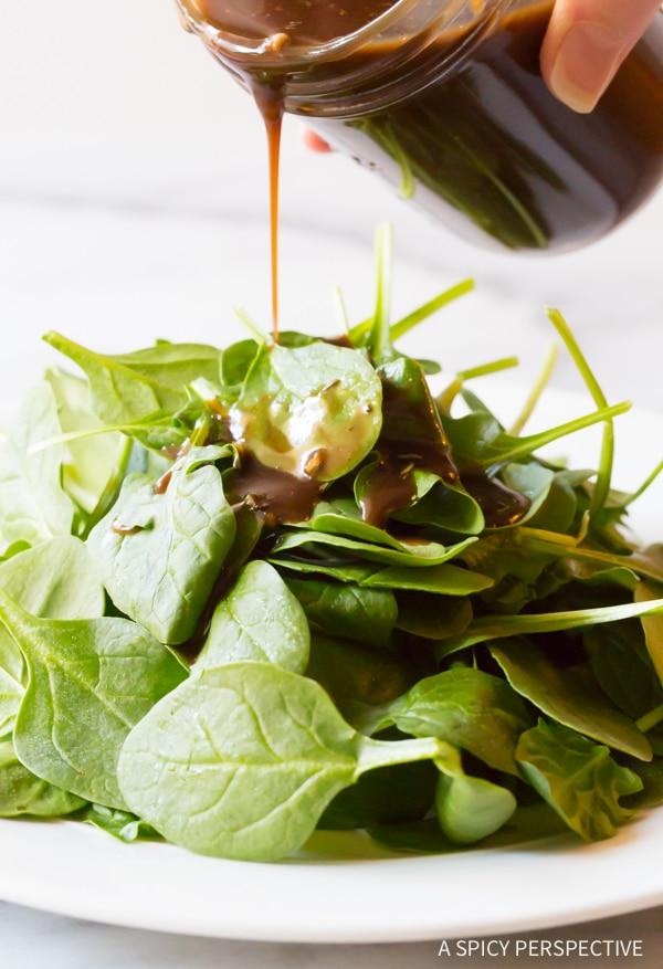 Easy Best Balsamic Vinaigrette