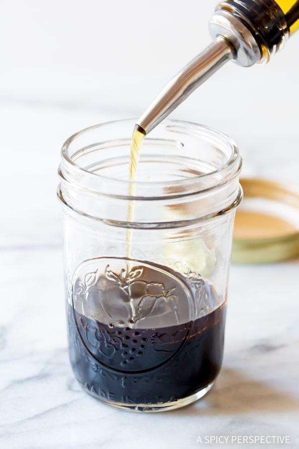Making The Best Balsamic Vinaigrette Recipe