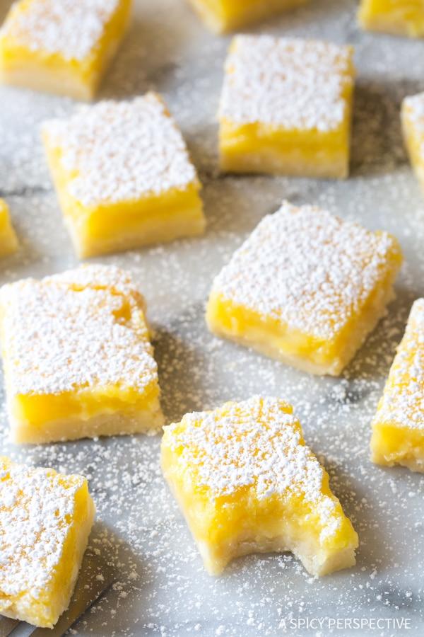Tangy! The Best Lemon Bars Recipe