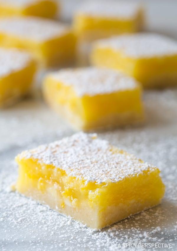 WOW! The Best Lemon Bars Recipe