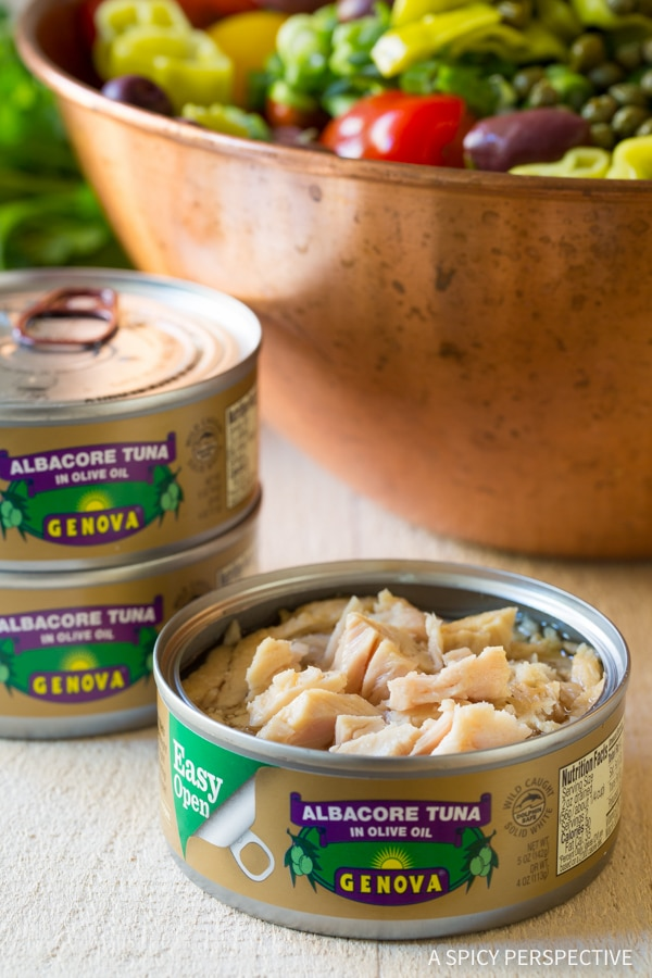 How To: Cold Tuna Pasta Salad with Olives and Capers Recipe