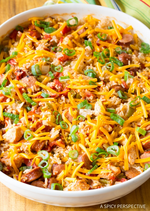 end of school party this spring, add Cajun Chicken and Rice Casserole ...