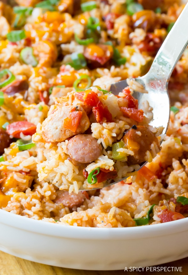 Cajun Chicken and Rice Casserole - A Spicy Perspective