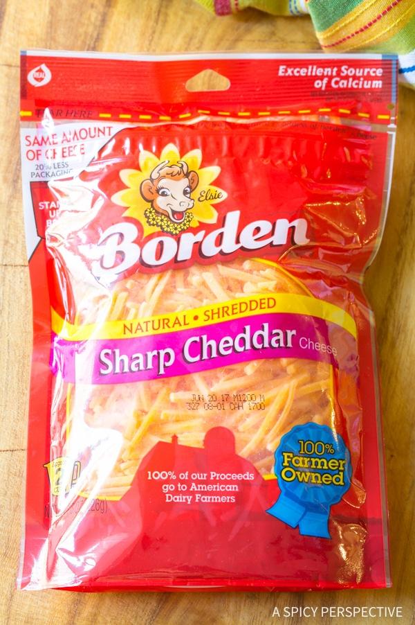 Borden Cheese Shreds