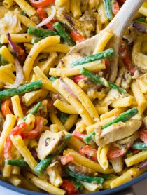 Grilled Chicken Rasta Pasta Recipe
