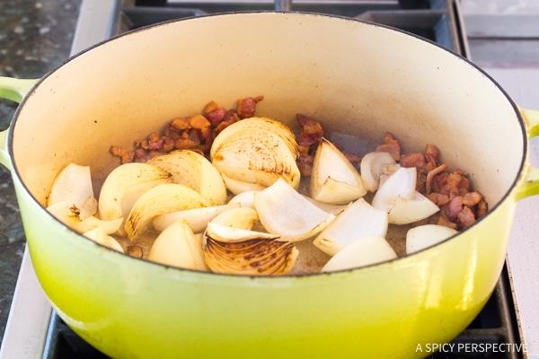Making Mom's Best Beef Pot Roast Dinner Recipe (Slow Cooker Friendly!)