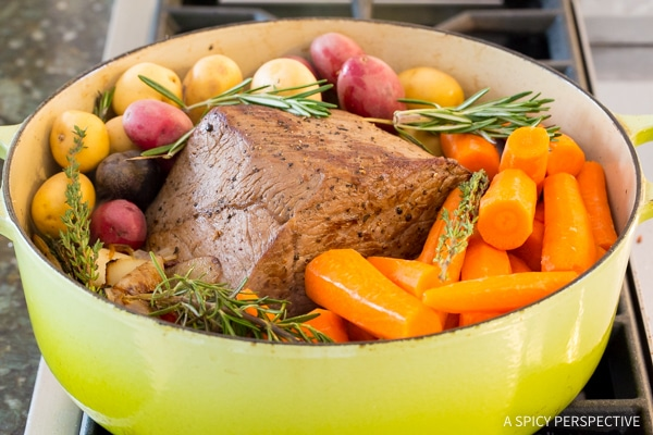 How To: Mom's Best Beef Pot Roast Dinner Recipe (Slow Cooker Friendly!)