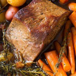 Mom's Best Beef Pot Roast Dinner Recipe
