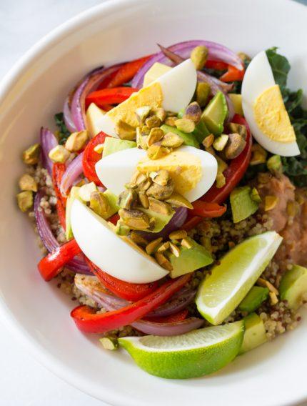Superfood Fajita Bowls Recipe #healthy #glutenfree #vegetarian