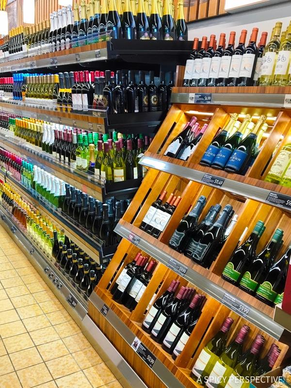 ALDI Wine Selection