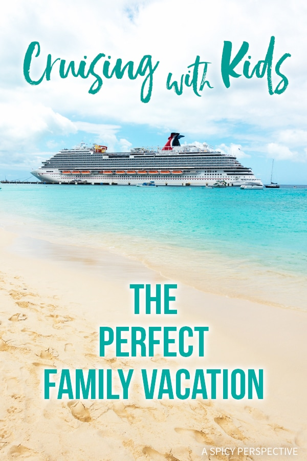 Cruising with Kids: The Perfect Family Vacation #travel #vacation #caribbean
