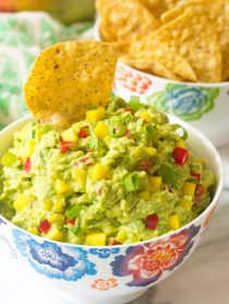 Fresh Mango Guacamole Recipe