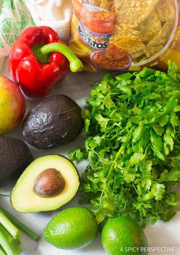 How To: Fresh Mango Guacamole Recipe