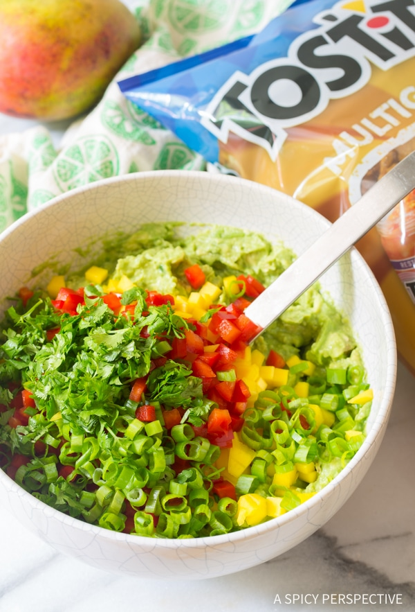 Perfect Fresh Mango Guacamole Recipe
