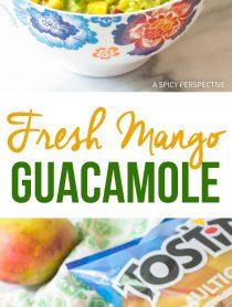 Spicy-Sweet Fresh Mango Guacamole Recipe