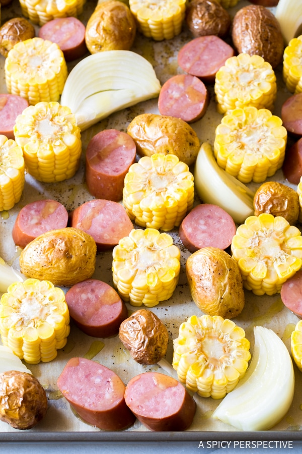 How to Make Sheet Pan Low Country Boil (Broil) Recipe