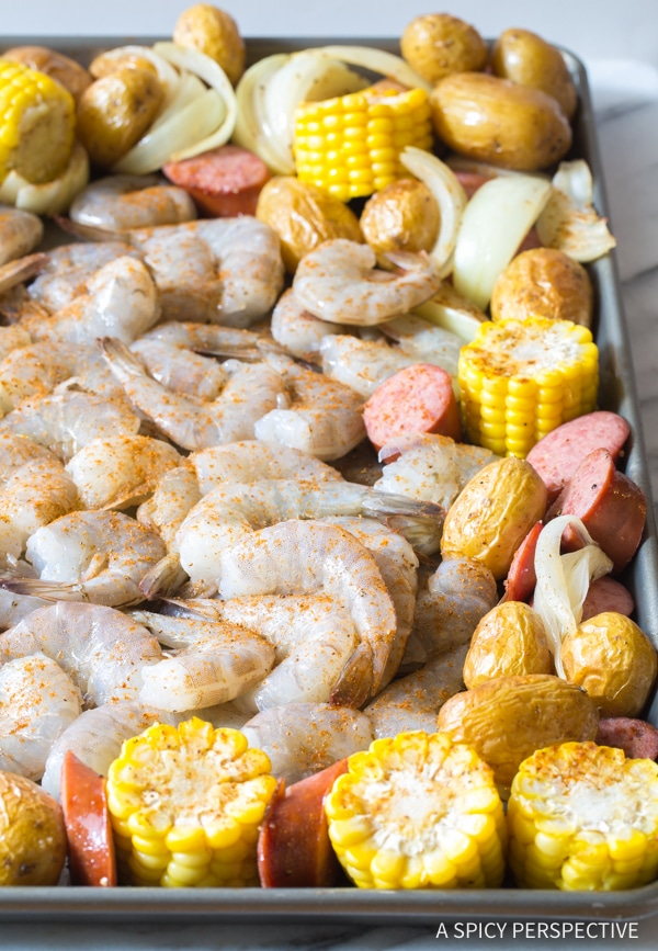How To: Sheet Pan Low Country Boil (Broil) Recipe