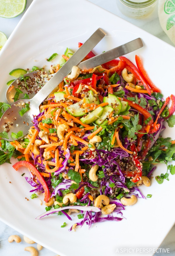 Best Thai Quinoa Salad Recipe